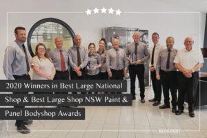 parramatta smash repairs best large national nsw shop paint panel bodyshop awards 2020 blog feature image