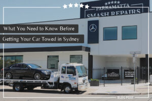 parramatta smash repair what you need to know before getting your car towed in sydney blog feature image