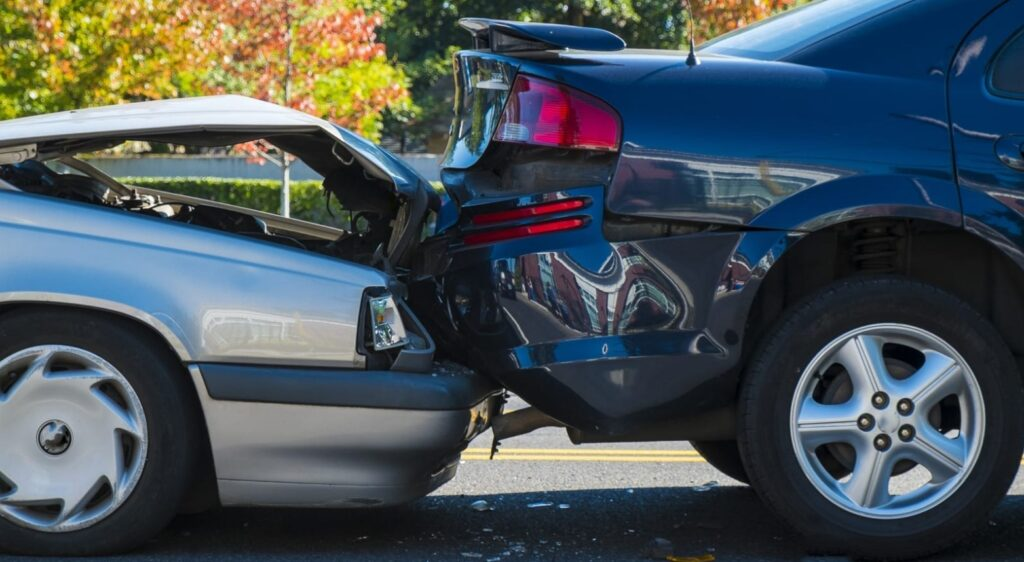 rear ended car accident
