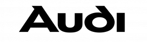 audi logo text only