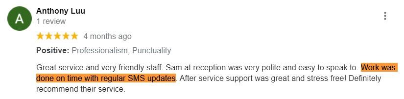 anthony luu google review