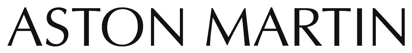 aston martin logo text