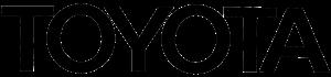 toyota text logo