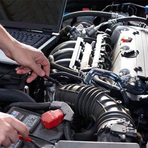 parramatta smash repairs car diagnosis close up